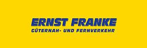 Logo Ernst Franke Güternah- und Fernverkehr